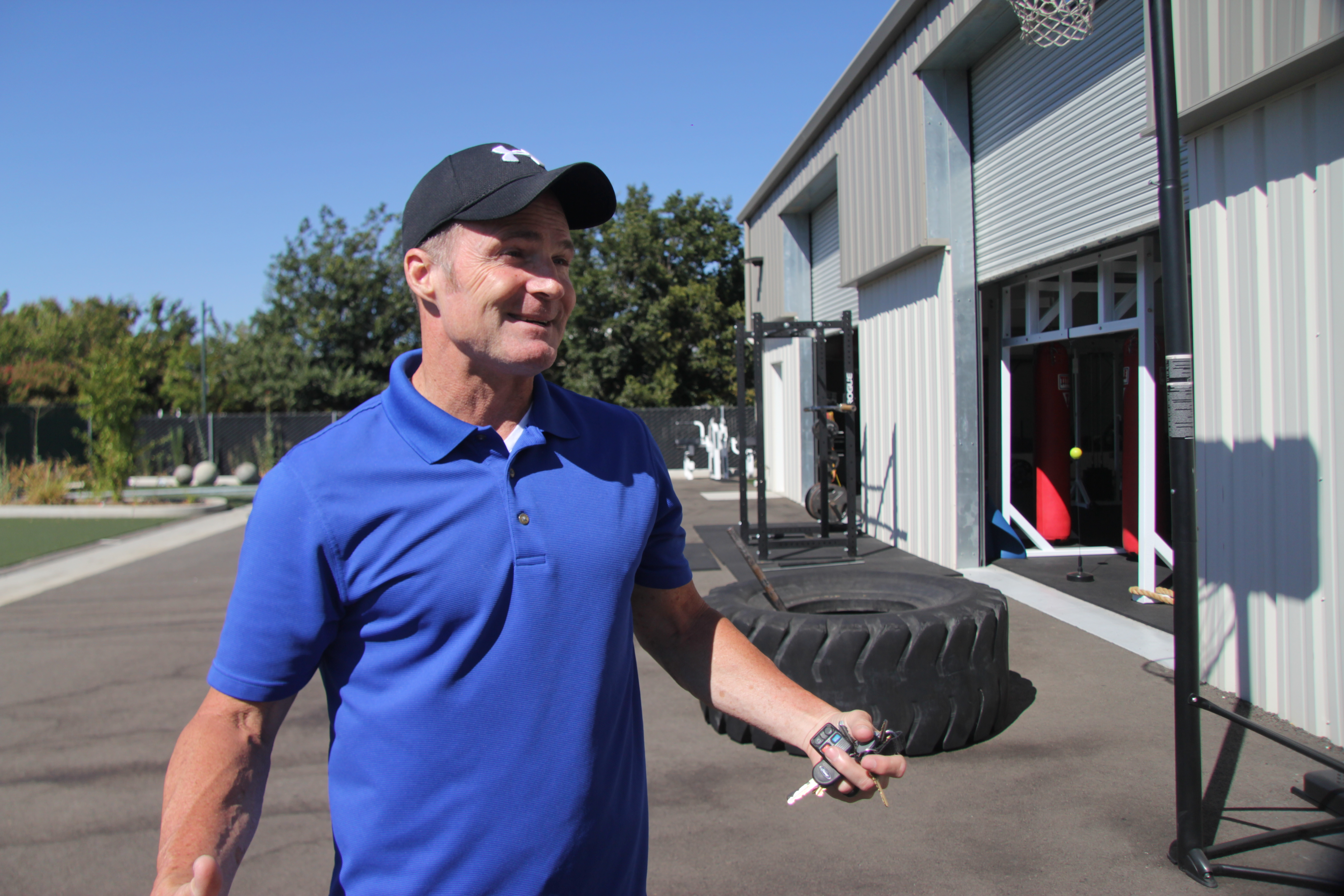 Doc's Gym owner Joe Martin talks to the Get Fit Clovis team about his gym.